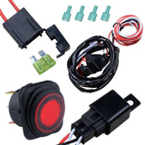 Nilight Off Road ATV Jeep LED Light Bar Wiring Harness Kit 12V/40A Relay On/o... - Chickadee Solutions - 1