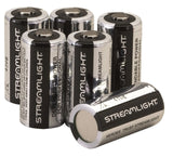 Streamlight 85180 Lithium Batteries CR123A 6-Pack - Chickadee Solutions