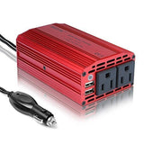 BESTEK 300W Power Inverter DC 12V to 110V AC Converter with 3.1A Dual USB Car... - Chickadee Solutions - 1