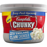 Campbell's Chunky Soup New England Clam Chowder 15.25 Ounce (Pack of 8) - Chickadee Solutions - 1
