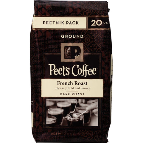 Peet's Coffee & Tea Ground French Roast 20 Ounce French Roast Ground - Chickadee Solutions - 1