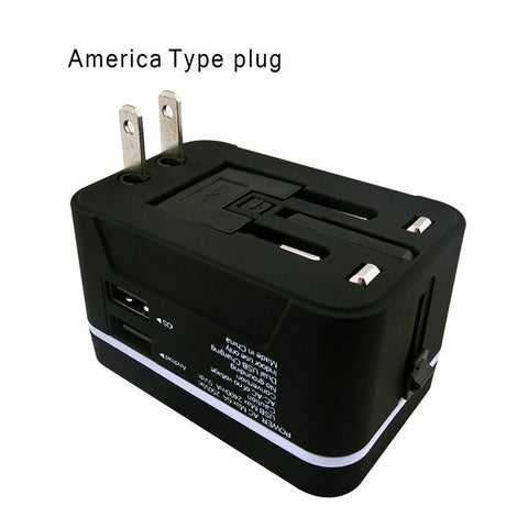 Travel Adapterjzxin Universal Travel Charger Plug With Dual 4 8a Usb Ports Us Chickadee