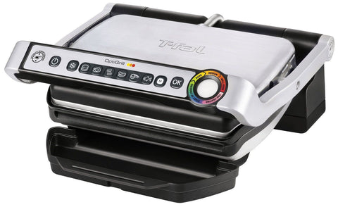 T-fal GC702 OptiGrill Stainless Steel Indoor Electric Grill with Removable an... - Chickadee Solutions - 1