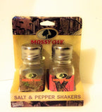 Mossy OAK Glass Camo His & Hers Salt and Pepper Shakers - Chickadee Solutions - 1