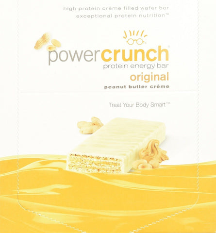 Bionutritional Power Crunch Bars Peanut Butter Creme 1.4 oz. 12 Bars - Chickadee Solutions - 1