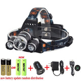 Mifine Waterproof LED Headlamp Headlightsuper Bright 4 Modes 3000lm Xm-l XML ... - Chickadee Solutions - 1