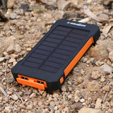 X-DRAGON 10000mAh Dual USB Solar Power Bank for iPhone 6 Plus 5s 5c 5 4s iPod... - Chickadee Solutions - 1