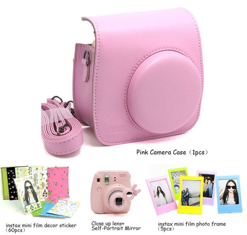 Fujifilm Instax Mini 8 Instant Camera Accessory Bundles Set (Included: Pink M... - Chickadee Solutions - 1