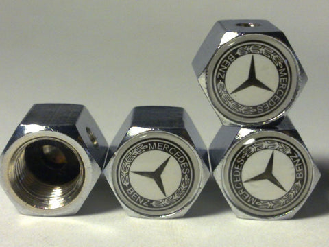 MERCEDES BENZ Anti-theft Car Wheel Tire Valve Stem Caps(MS) - Chickadee Solutions - 1