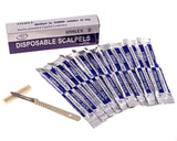 Disposable Scalpel Blades No. 22 With Plastic Handle - Suitable for Dermaplan... - Chickadee Solutions - 1