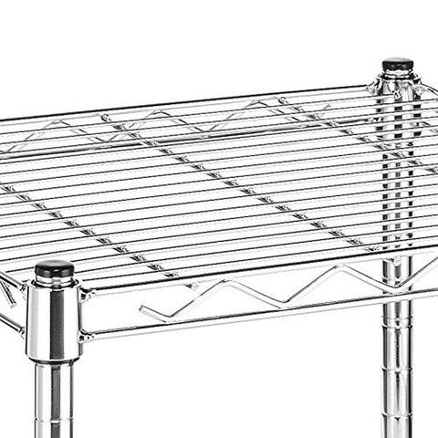 whitmor commercial grade steel supreme small stacking