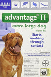 Bayer Advantage II Topical Flea Treatment Dogs 6-Month 55-Pound - Chickadee Solutions - 1