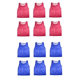 Nylon Mesh Scrimmage Team Practice Vests Pinnies Jerseys for Children Youth S... - Chickadee Solutions - 1