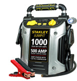 Stanley J5C09 1000 Peak Amp Jump Starter with Built in Compressor - Chickadee Solutions - 1