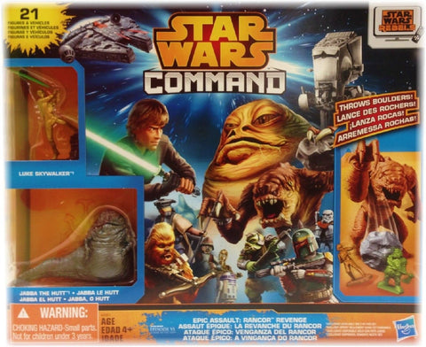 Star Wars Command Epic Assault Figures & Vehicles Playset: Rancor Revenge wit... - Chickadee Solutions - 1