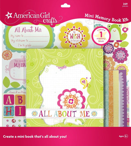 American Girl Crafts Memory Book Friends - Chickadee Solutions