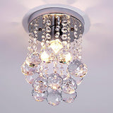 Mini Modern Chandelier Rain Drop Lighting Crystal Ball Fixture Pendant Ceilin... - Chickadee Solutions - 1