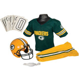 Franklin Sports NFL Team Licensed Youth Uniform Set Green Bay Packers Medium - Chickadee Solutions - 1