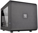 Thermaltake CORE V21 Black Extreme Micro ATX Cube Chassis CA-1D5-00S1WN-00 - Chickadee Solutions - 1