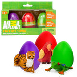 Animal Planet Grow Eggs- Rain Forest- Hatch and Grow Three Different Super-si... - Chickadee Solutions - 1