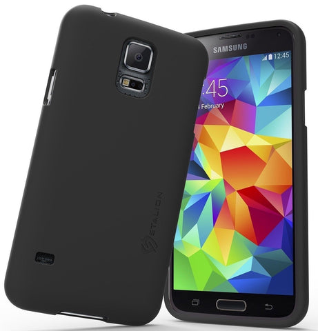 Samsung Galaxy S5 Case: Stalion Slider Series Matte-UV Textured Sliding Style... - Chickadee Solutions - 1
