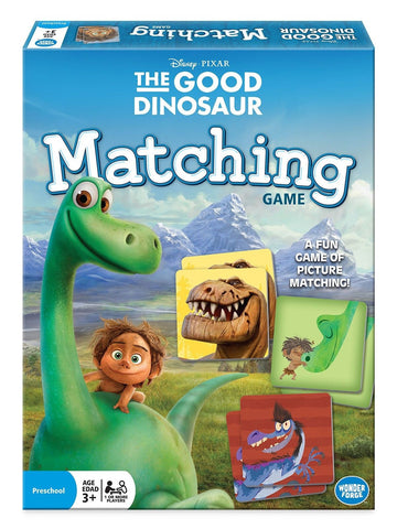 Good Dinosaur Matching Board Game Standard Packaging - Chickadee Solutions - 1