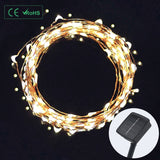 Diateklity LED Solar String Lights Wire Lights Waterproof Starry String Light... - Chickadee Solutions - 1