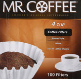 100-Count Coffee Filter 4 Cup 1 - Chickadee Solutions - 1