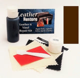 Leather Repair Kit with READY TO USE Color DARK BROWN - Chickadee Solutions - 1