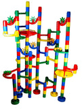 Marble Madness Marble Run - Limited 126 Pc. Set - Chickadee Solutions - 1