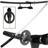 Ace Martial Arts Supply Reverse Blade Katana with Stand Black - Chickadee Solutions - 1