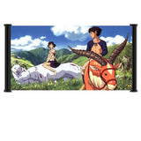"Princess Mononoke Anime Fabric Wall Scroll Poster (30"" x 16"") Inches. [WP]-Pr... - Chickadee Solutions"