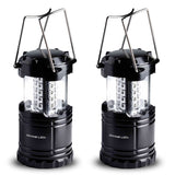 2 Pack LED Lantern Flashlights - Camping Lantern - Collapses - Suitable for: ... - Chickadee Solutions - 1