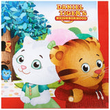 Daniel Tiger Party Supplies - Lunch Napkins (20) - Chickadee Solutions