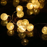 8 Modes Solar String Lights Upgrade Gotideal 50 LEDs Crystall Ball Globe Sola... - Chickadee Solutions - 1