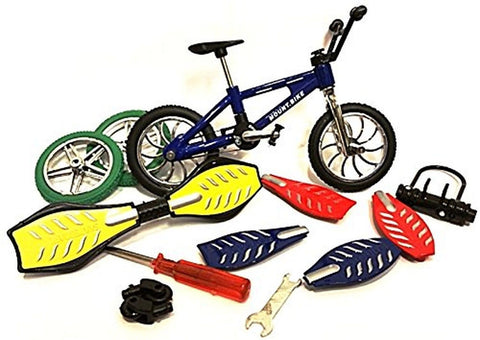 Finger Bike/Skateboard Set w Tools and Accessories - Chickadee Solutions - 1