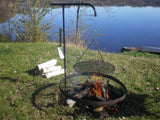 Wimpy's Swing-away Campfire Grill - Chickadee Solutions - 1