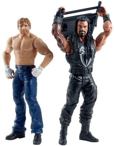 WWE Summer Slam Roman Reigns and Dean Ambrose Figure (2 Pack) - Chickadee Solutions - 1