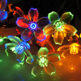 DALMI Solar Powered String Lights: Multi-colored Flower Strand Lighting for I... - Chickadee Solutions - 1
