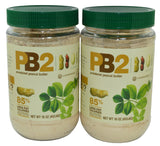 Bell Plantation PB2 Powdered Peanut Butter 1 lb Jar (2-pack) 2-Pack - Chickadee Solutions