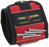MagnoGrip 311-090 Magnetic Wristband Red One Size - Chickadee Solutions - 1