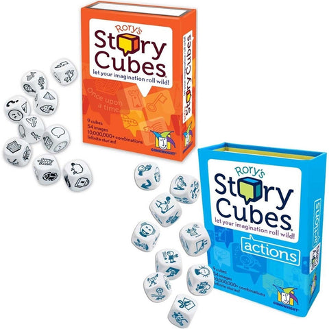 Rory's Story Cubes - Original and Actions - Chickadee Solutions - 1