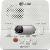 AT&T 1740 Digital Answering System with Time and Day Stamp White - Chickadee Solutions