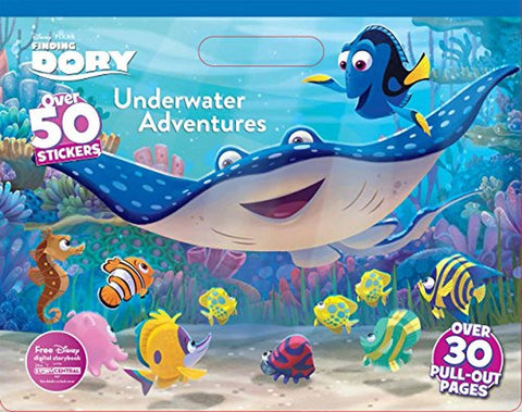 Disney Pixar Finding Dory Coloring Pad (Floor Coloring Pad) - Chickadee Solutions