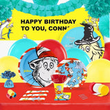 Dr Seuss Party Supplies - Complete Party Kit for 16 - Chickadee Solutions