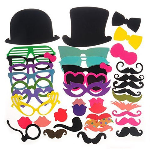 40pcs Photo Booth Props for Party Favor - Chickadee Solutions - 1