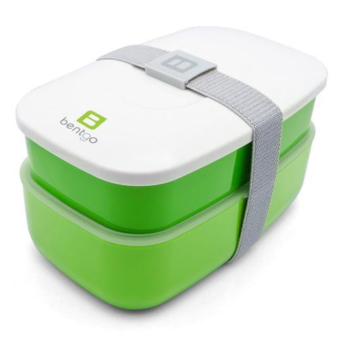 Bentgo All-in-One Stackable Lunch/Bento Box Green - Chickadee Solutions - 1