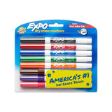 Expo Low Odour Dry Erase Pen-Style Markers 8 Coloured Markers (86601) 8-Pack - Chickadee Solutions - 1