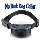 MT-53S No Harm Anti Bark Dog Collar with Beeps & Shock Adjustable Sensitivity - Chickadee Solutions - 1