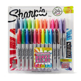 Sharpie Color Burst Permanent Markers Fine Point Assorted 24-Pack (1949557) - Chickadee Solutions - 1